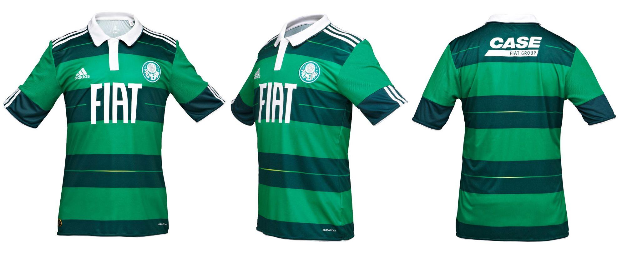4e8c9febef3d7 Adidas and Palmeiras present third jersey for the 2010 2011 season ...