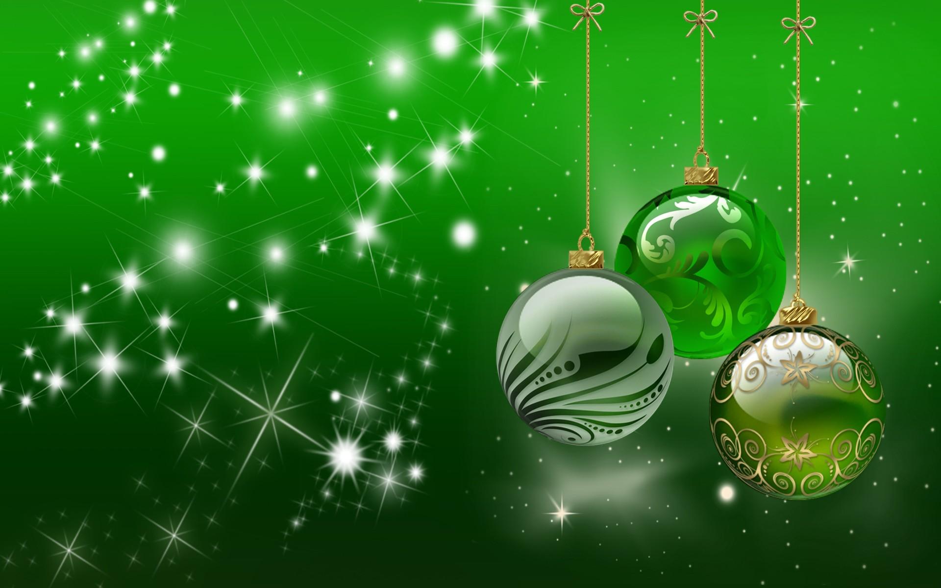 Bolas De Navidad Rojas Sobre Fondo Verde: Merry Christmas, Palestrinos